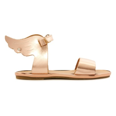 Babywalker Metallic Wing Sandals-listing