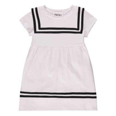 Douuod Belted Boat Neck Dress-listing