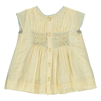 Caramel Perry Smock Dress-listing