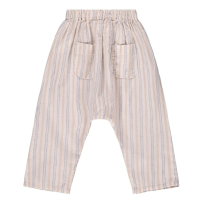 Tocoto Vintage Striped Harem Trousers-listing