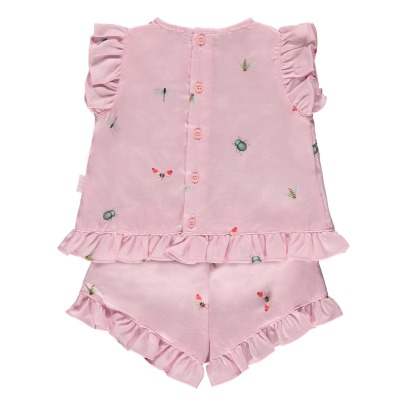 Il Gufo Ensemble Top + Bloomer Insectes-listing