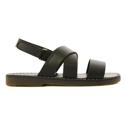 Babywalker Cross Strap Velcro Sandals-listing