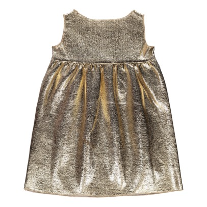 Douuod Metallic Dress-listing