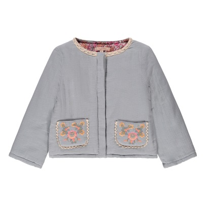 Louise Misha Pondichery Embroidered Pocket Jacket-listing