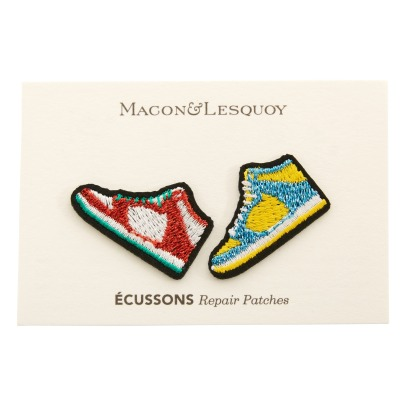 Macon & Lesquoy Two Trainers Patches-listing