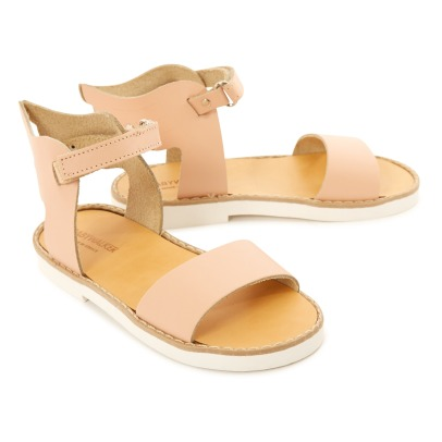 Babywalker Leather Wing Velcro Sandals-listing
