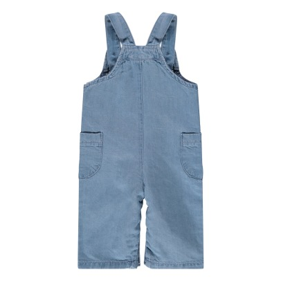 Tocoto Vintage Linen and Cotton Dungarees-listing