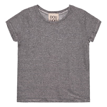 Douuod Striped T-Shirt-listing