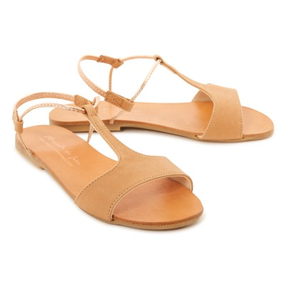 Manuela de Juan  Mikonos Leather Sandals-listing