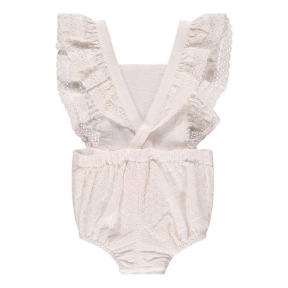 Louise Misha Honolulu Embroidered Playsuit-product