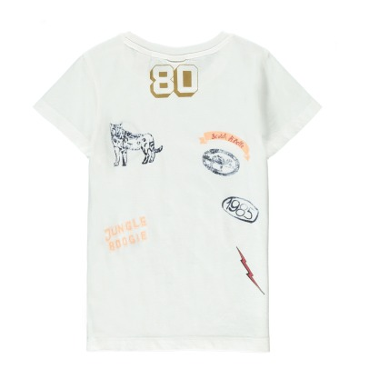 Scotch & Soda Embroidered Print T-Shirt-listing