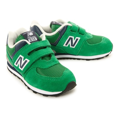 New Balance 574 Velcro Trainers-listing