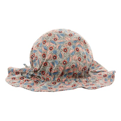Caramel Sanabria Floral Liberty Hat-listing