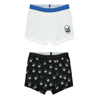 Stella McCartney Kids Pack 2 boxers Calaveras Colin-listing