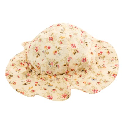 Caramel Sanabria Floral Hat-product