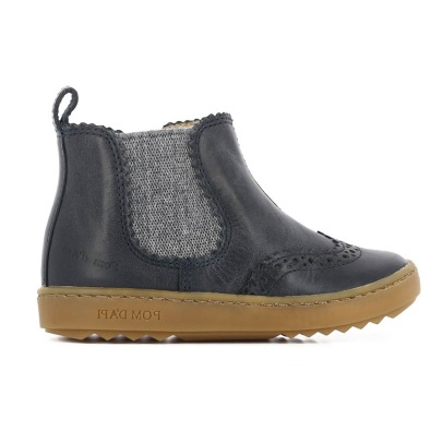 Pom d'Api Boots Chelsea Cuir Semelle Gomme Wouf Jodzip-listing