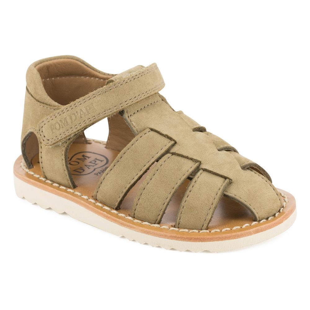 Sale - Waff Papy Nubuck Sandals - Pom dApi Pom dApi l9MNvw6W