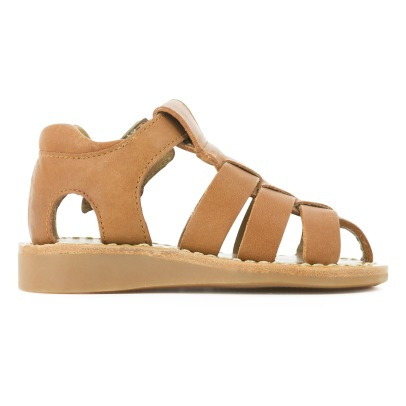 Pom d'Api Yapo Papy Buckle Leather Sandals-listing
