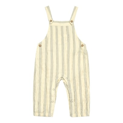 Rylee + Cru Striped Dungarees-listing