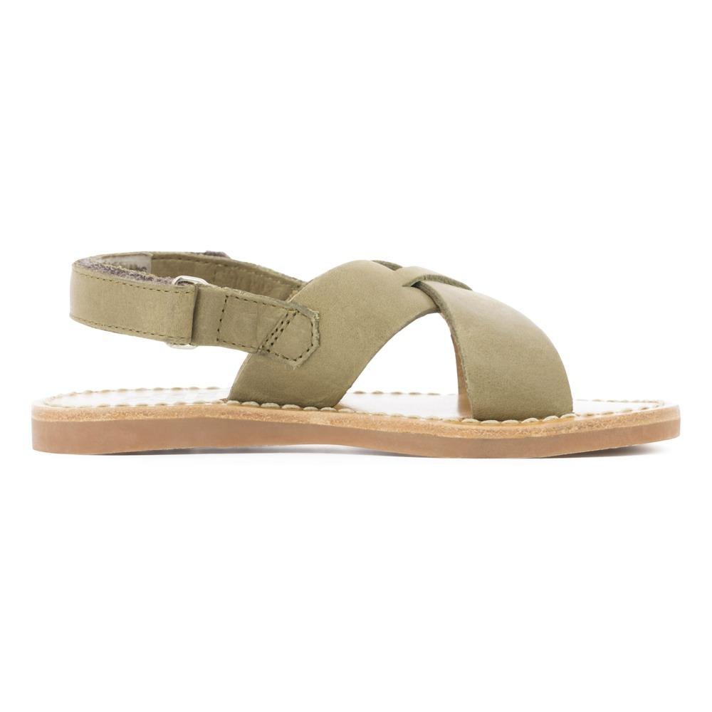 Sale - Stitch Papy Leather Beach Sandals - Pom dApi Pom dApi eoTUUF
