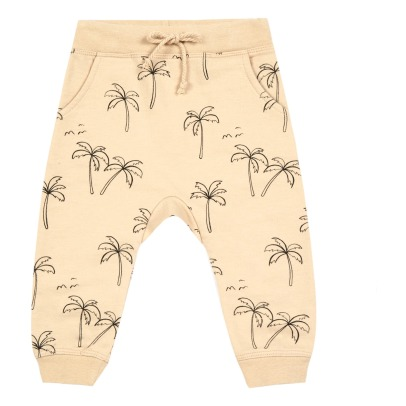 Rylee + Cru Palm Tree Harem Jogging Bottoms-listing