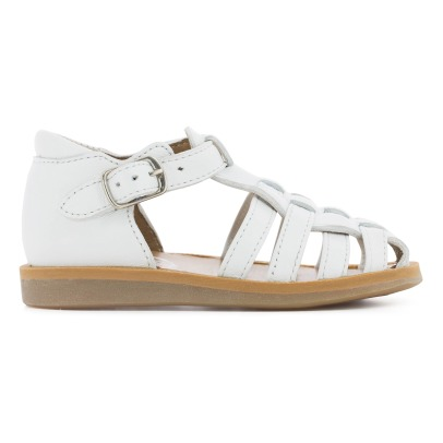 Pom d'Api Jelly Back Poppy Leather Sandals-listing