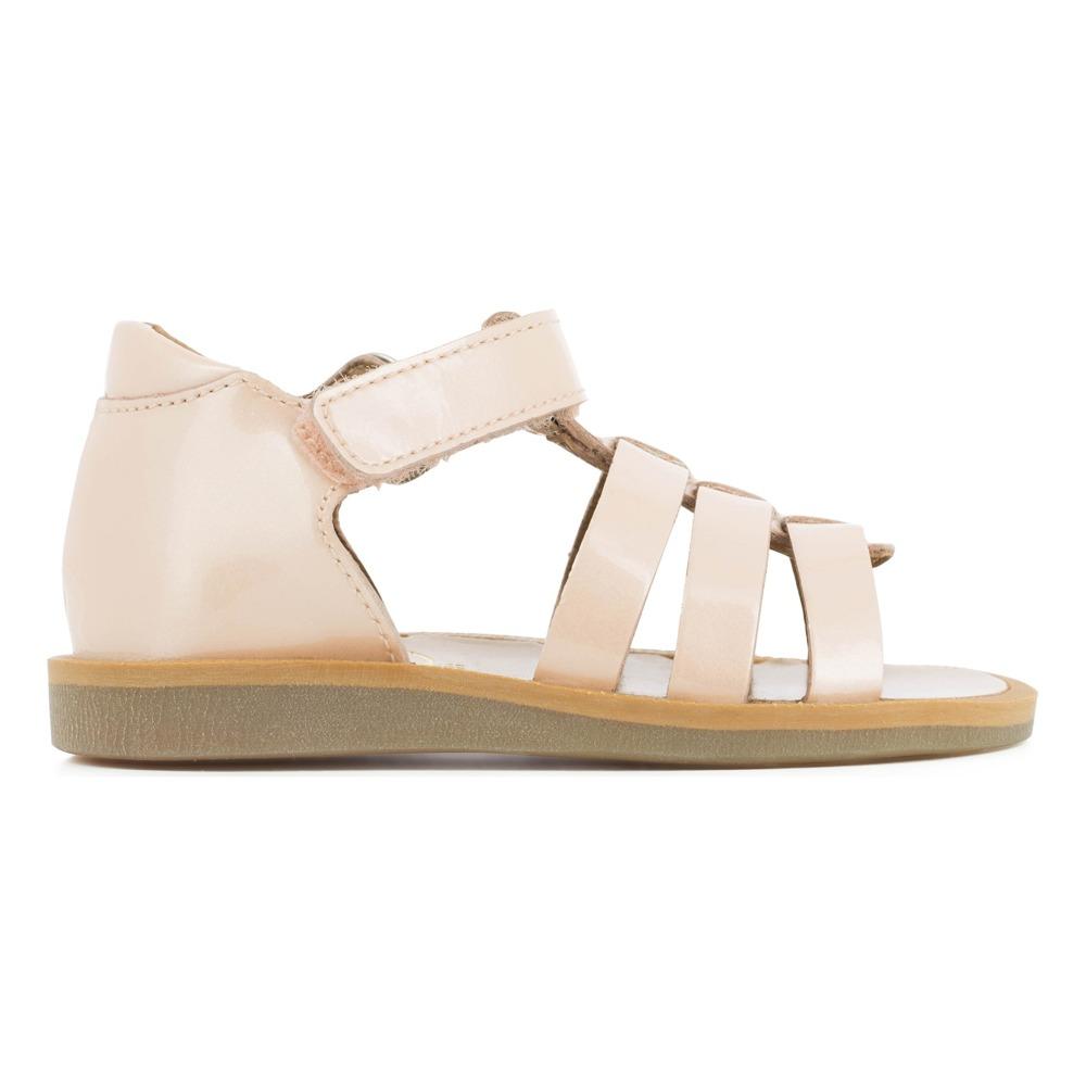 Sale - Strap Poppy Metal Patent Leather Sandals - Pom dApi Pom dApi ePnbYBBJ
