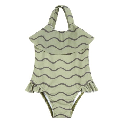 Rylee + Cru Ruffled Wave 1 Piece Swimsuit-listing