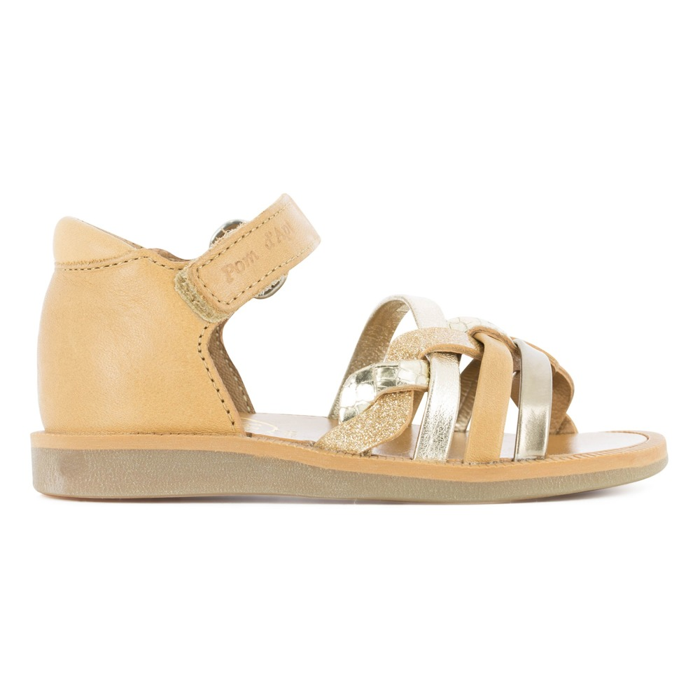 Sale - Tao Easy Glitter Poppy Leather Sandals - Pom dApi Pom dApi V2VrI4