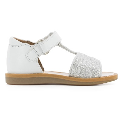 Pom d'Api Tao Easy Glitter Poppy Leather Sandals-listing