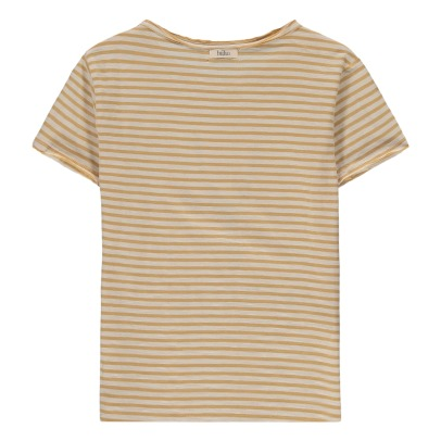 Buho Leo Striped Explorer T-Shirt-listing