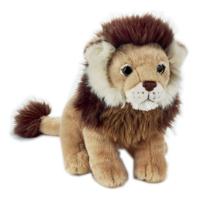 National Geographic Lion Soft Toy 24cm-listing