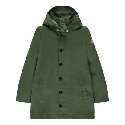 Scotch & Soda Hooded Parka With Buttons-listing
