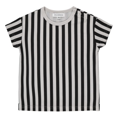 Chocolate Soup Striped Pima Cotton T-Shirt-listing