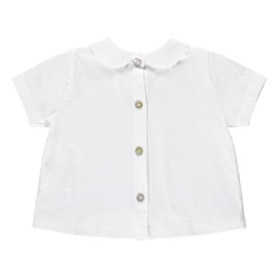 De Cavana Peter Pan Collar T-Shirt-listing