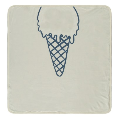 Stella McCartney Kids Toasty Ice Cream Organic Cotton Blanket-listing