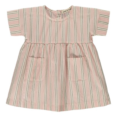 Babe & Tess Striped Dress-listing