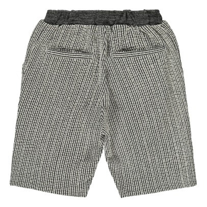 ARCH & LINE Seersucker Striped Shorts-listing