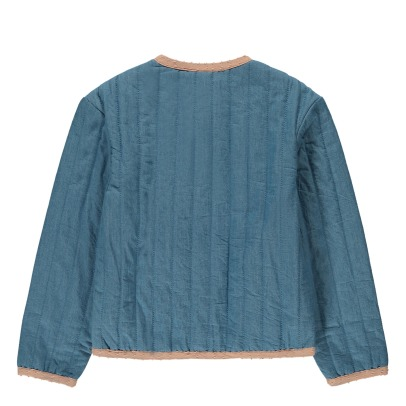 Louis Louise Lia Chambray Quilted Jacket-listing