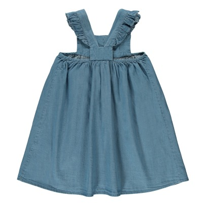 Louis Louise Chambray Kleid mit Knöpfe Sidonie -listing