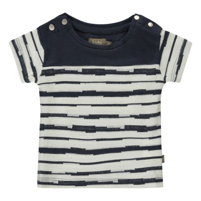 Kidscase Syd Organic Cotton Striped T-Shirt-listing