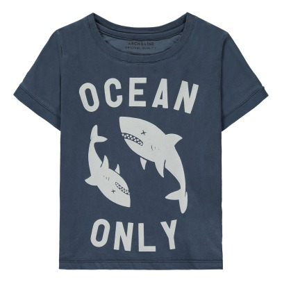 ARCH & LINE Shark Organic Cotton T-Shirt-listing
