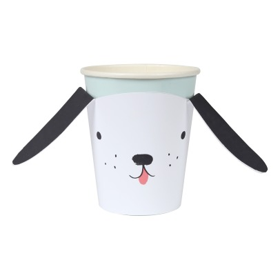Meri Meri Dog Paper Cups - Set of 12-listing