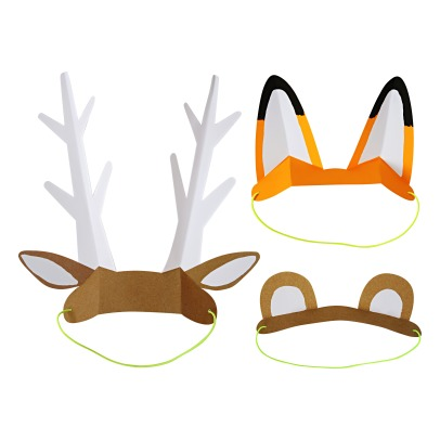 Meri Meri Paper Animal Ears - Set of 8-product