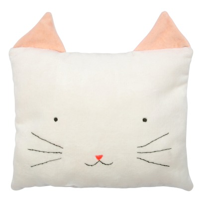 Meri Meri Velvet Cat Cushion-listing