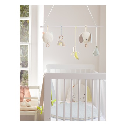 Meri Meri Organic Cotton Pear Rattle-listing