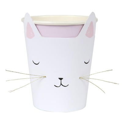 Meri Meri Cat Paper Cups - Set of 12-product