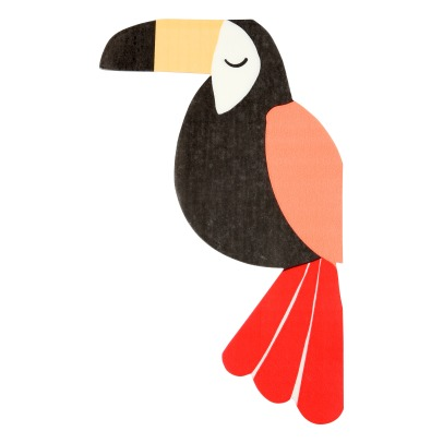 Meri Meri Toucan Paper Napkins - Set of 20-listing