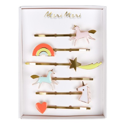 Meri Meri Unicorn Hair Clips - Set of 6-listing