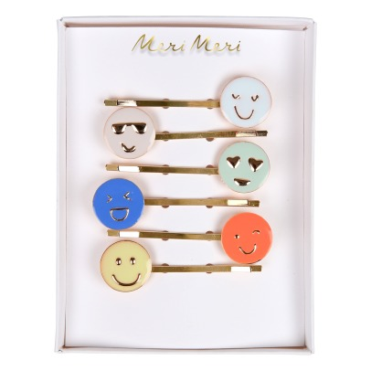Meri Meri Emoji Hair Clips - Set of 6-listing